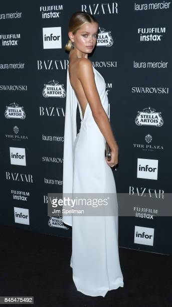 Frida Aasen attends the 2017 Harper's Bazaar Icons at The Plaza Hotel on September 8 2017 in New York City