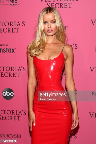 Frida Aasen attends the 2018 Victoria's Secret Fashion Show After Party on November 8 2018 in New York City