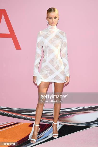 Frida Aasen attends the CFDA Fashion Awards at the Brooklyn Museum of Art on June 03 2019 in New York City