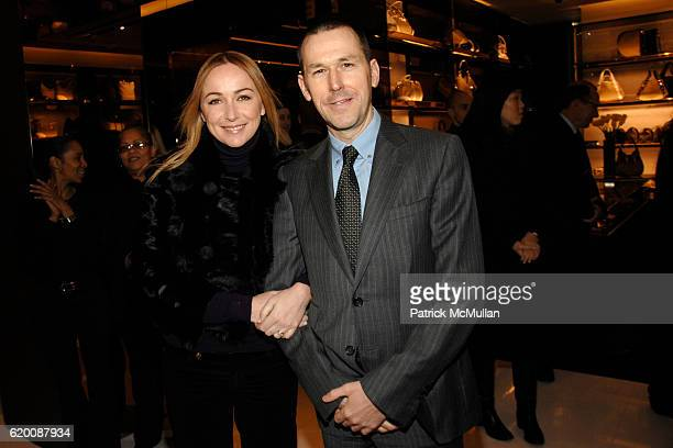Frida Giannini and Mark Lee attend DONALD TRUMP Joins GUCCI for Ribbon Cutting of the FIFTH AVENUE FLAGSHIP GUCCI STORE at Gucci on February 8 2008...
