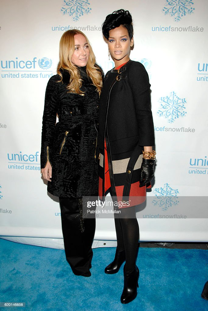Frida Giannini and Rihanna attend GUCCI u0026 UNICEF hosts Snowflake Lighting with RIHANNA - PERFORMANCE at  sc 1 st  Getty Images & Patrick McMullan Archives Pictures | Getty Images azcodes.com