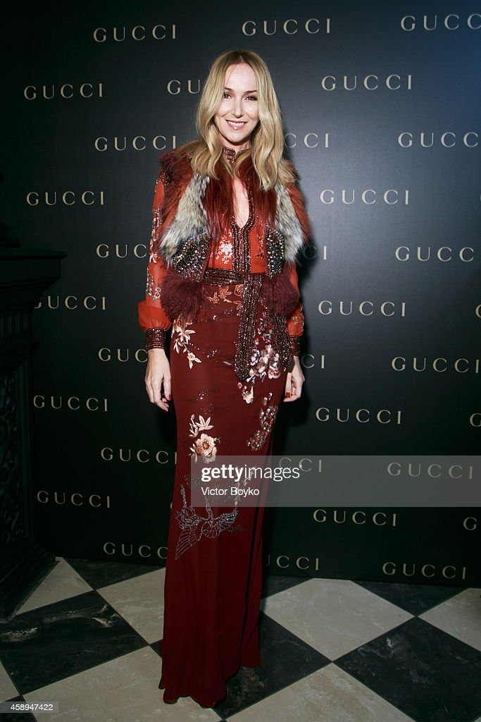 Gucci Dinner Party In Moscow : ニュース写真