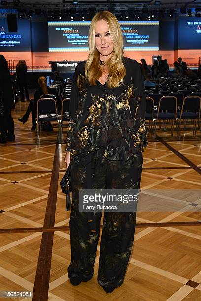 Frida Giannini, Gucci Creative Director, attends the third day of the 2012 International Herald Tribune's Luxury Business Conference held at Rome...