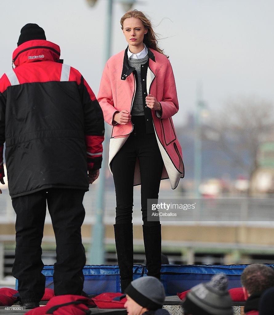 Celebrity Sightings In New York City - December 18, 2013