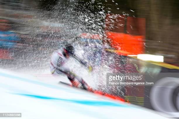 Frida Hansdotter of Sweden in action during the FIS World Ski Championships Women's Giant Slalom on February 14 2019 in Are Sweden