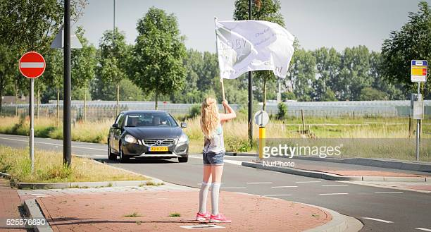 RIJSWIJK Friday 10th July 2015 is the fifth day in a row that activists have been demonstrating in front of the Biomedical Primate Research Center...