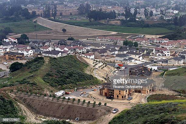 Friday 5/5/2000 Simi Valley CA –– View of new Westwood Ranch development on the north side of Madera Rd opposite to Wood Ranch development