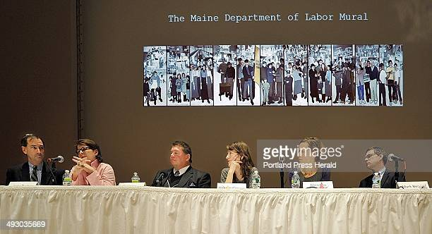 Friday April 8 2011 the Portland Museum of Art holds a public forum on Whose Art Is It with most of the discussion centered on the removal of the 11...