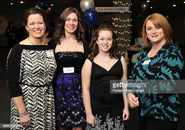 Friday February 3 2012 Scene and Heard photos from 25th anniversary gala with auction and dinner to benefit the Center for Grieving Children lr Lori...