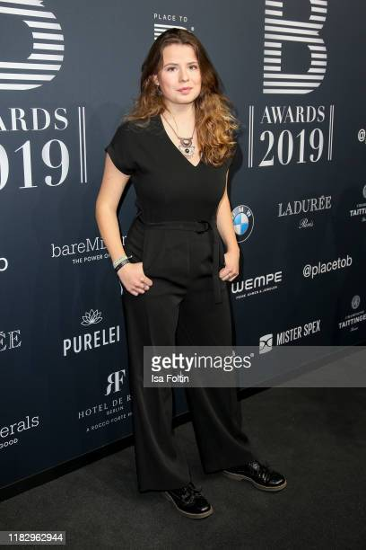 Friday for future activist Luisa Neubauer at the Place To B Awards at AxelSpringerHaus on November 16 2019 in Berlin Germany
