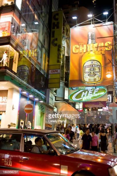 Friday night in Lan Kwai Fong