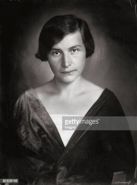 Friderike Maria von Winternitz nee Burger First wife of Stefan Zweig Photograph 1920