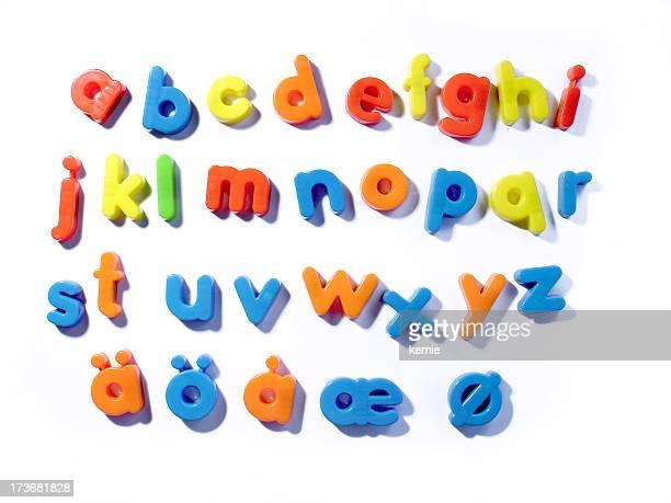 Kühlschrank letters- Kleinbuchstaben
