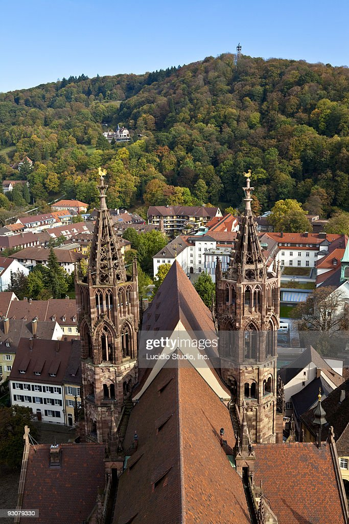 Frieburg Minster Germany : Stock Photo