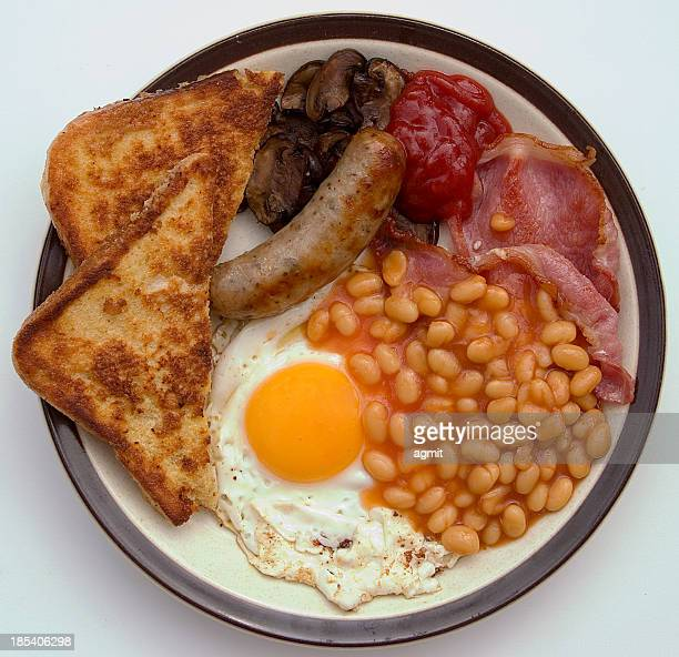 fried breakfast - full stock pictures, royalty-free photos & images