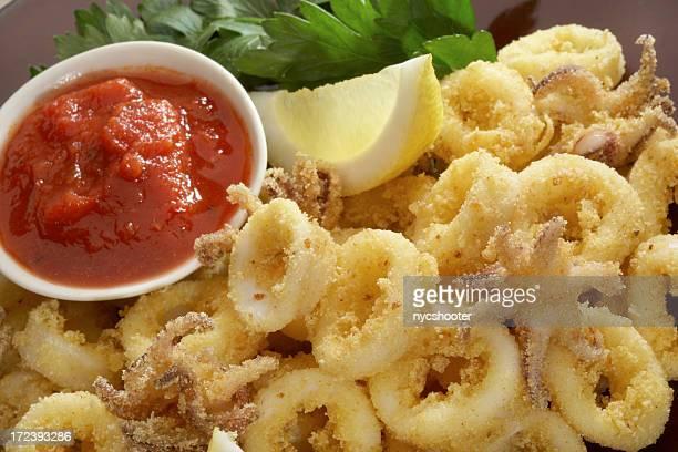 Frittierte calamari (XXL