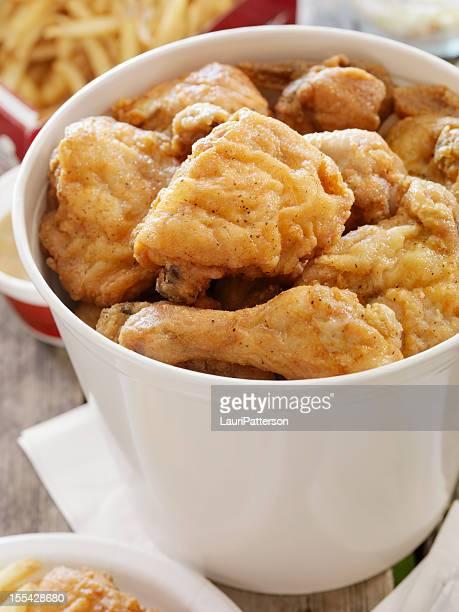 Poulet frit sur un pique-nique