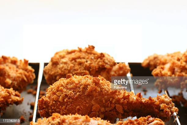 fried chicken - fried chicken stock photos and pictures