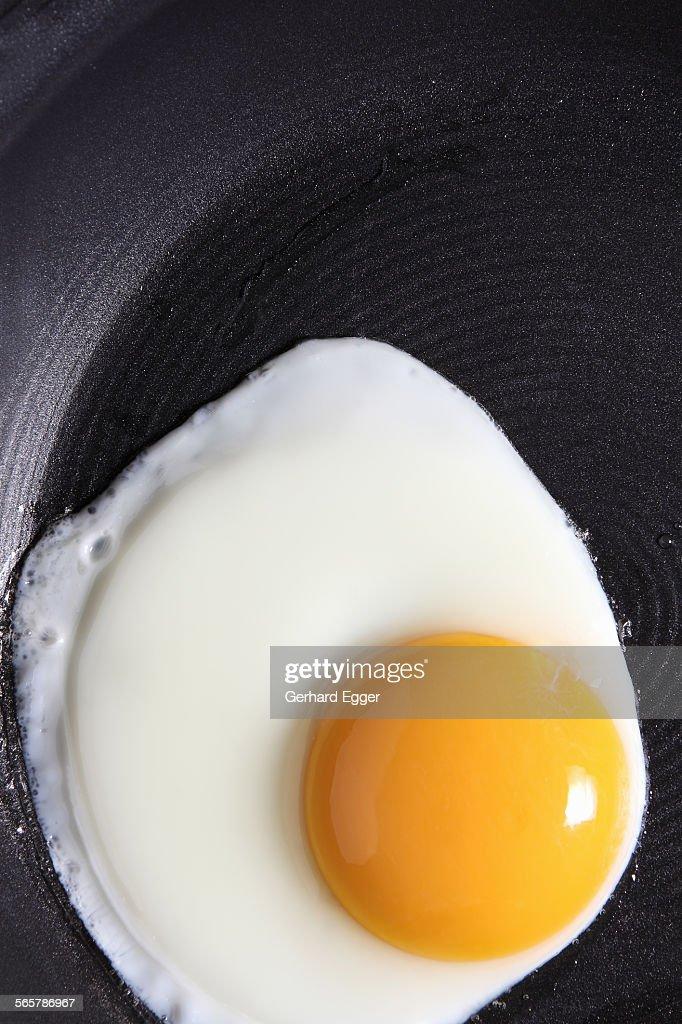 Fried egg : Foto de stock