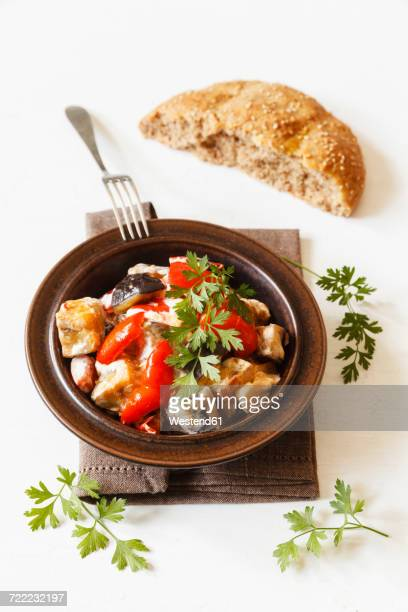 fried mixed vegetables - flat leaf parsley stock pictures, royalty-free photos & images