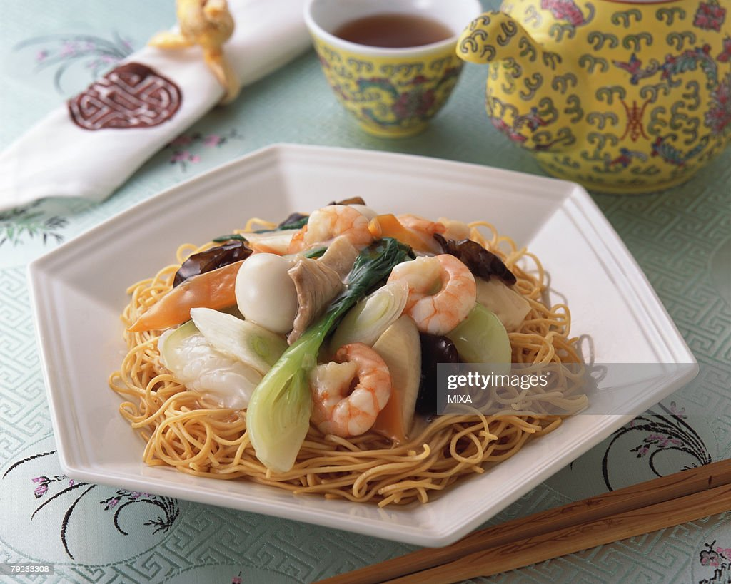 Fried Noodle : Stock Photo