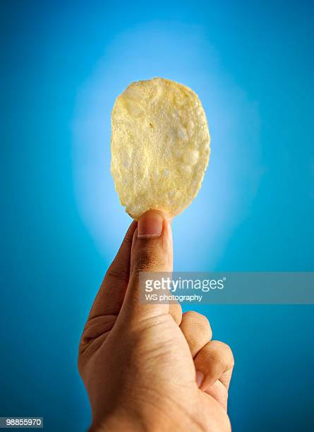 Fried potato chip