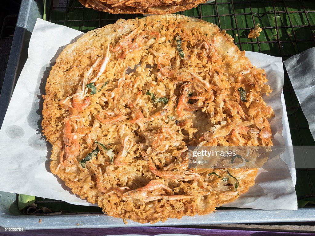 Camarão Frito Bolas : Foto de stock