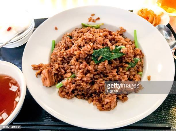 Fried Rice with Braised Pork Belly (Kakuni Chahan)