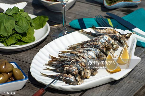Fried Sardine Fish