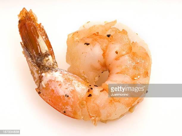fried shrimp - shrimp stock photos and pictures