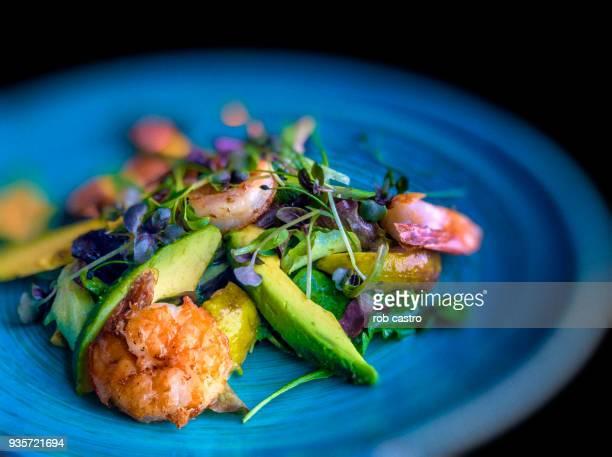 fried shrimp - gastronomico foto e immagini stock