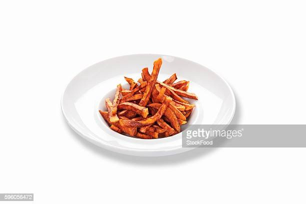 Fried sweet potato sticks