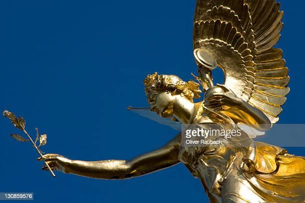 Friedensengel (Freedom Angel), Bogenhausen district, Munich, Bavaria, Germany, Europe