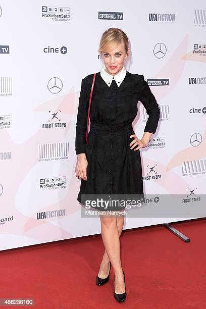 Friederike Kempter attends the First Steps Awards 2015 at Stage Theater on September 14 2015 in Berlin Germany