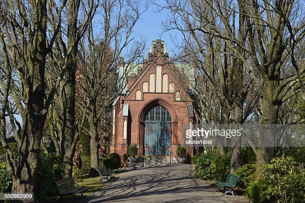 Friedhof Grunewald Halensee Bornstedter Strasse Halensee Berlin Deutschland