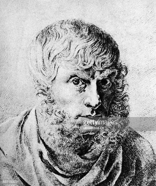 Friedrich, Caspar David , Maler, Graphiker, D, Selbstbildnis