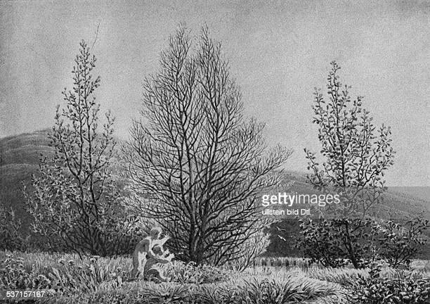 Friedrich, Caspar David , Maler, Graphiker, Deutschland, , Der Frühling