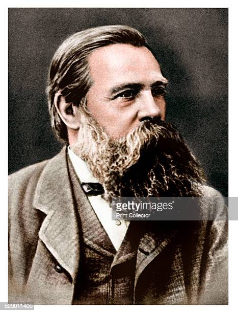 Friedrich Engels, German socialist and collaborator and supporter of Karl Marx, 1879. Engels lived mainly in England from 1842. He co-operated with...