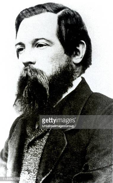 Friedrich Engels German socialist, friend of Karl Marx and founder with him of Scientific Socialism. Engels c1850.