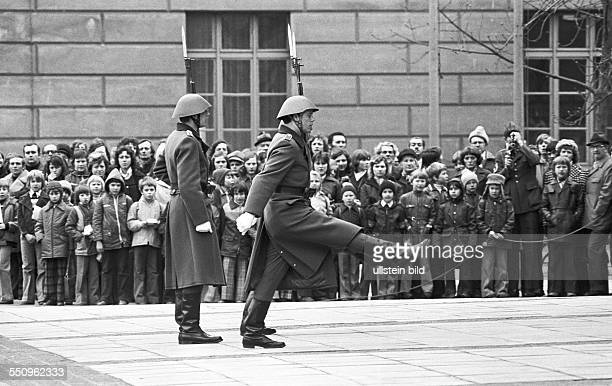 Friedrich Engels Guard Regiment in East Berlin NVA Guard Regiment 1 was a special guard unit of the East German National People's Army honor guards...