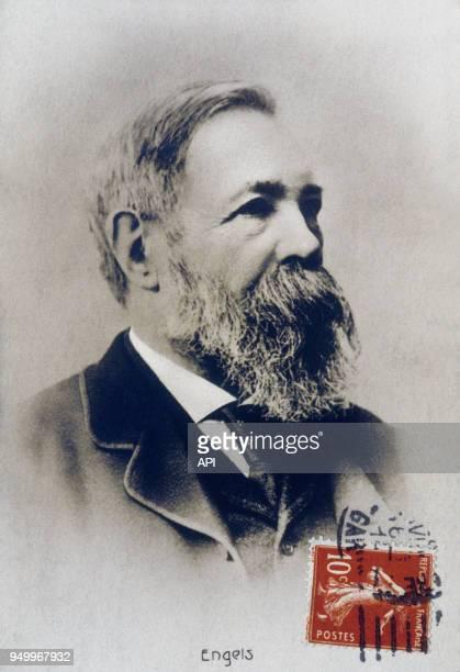 Friedrich Engels, philosophe allemand du 19ème siècle, Allemagne.