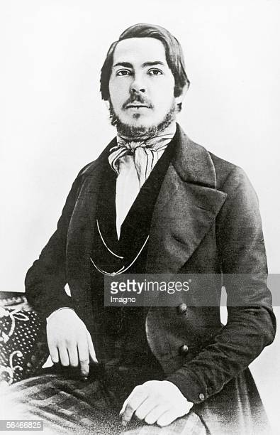 Friedrich Engels. Photography. Around 1880. [Friedrich Engels. Photograpahie. Um 1880.]