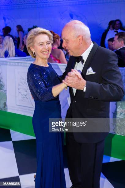 Friedrich Johannsmann Federal Minister Ursula von der Leyen during the Fete Imperiale 2018 on June 29 2018 in Vienna Austria