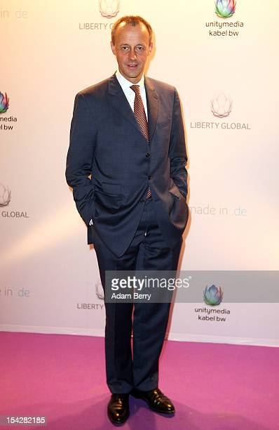 Friedrich Merz arrives for the 'made inde' awards on October 17 2012 in Berlin Germany