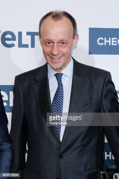 Friedrich Merz attends the 'World Economic Summit ' 2018 on January 10 2018 in Berlin Germany