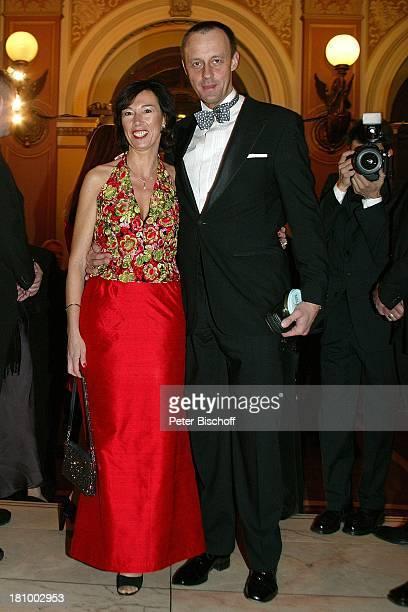 Friedrich Merz Ehefrau Charlotte Frankfurter Opernball 2003 Frankfurt Alte Oper Foyer Abendkleid