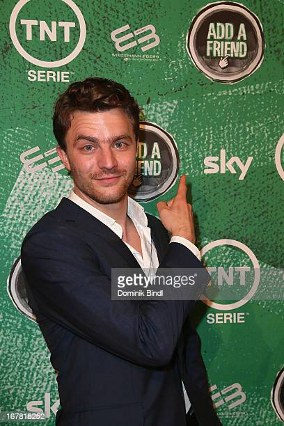 Friedrich Muecke attends 'Add a Friend' Preview Event of TNT Serie at Bayerischer Hof on April 30 2013 in Munich Germany The second season series...