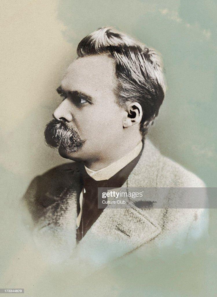 Friedrich Nietzsche - portrait : News Photo