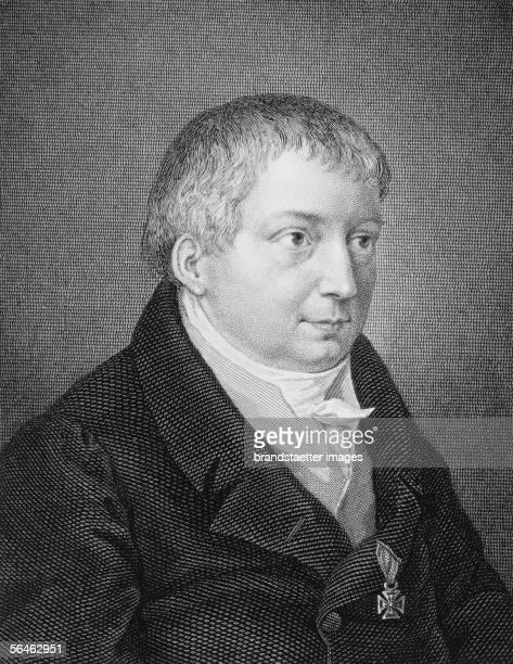 Friedrich von Schlegel, German poet and philosopher , about 1820. [Friedrich von Schlegel, deutscher Dichter und Philosoph Um 1820]