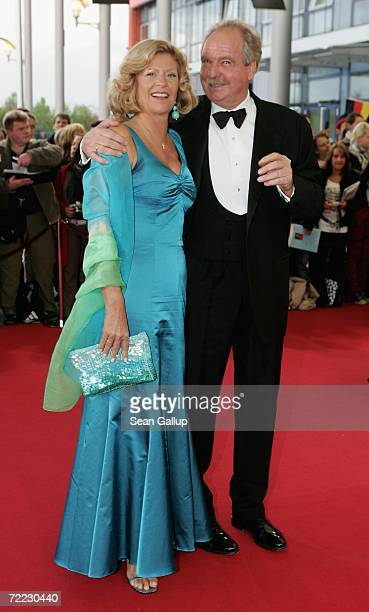 Friedrich von Thun and Gabriele von Thun attend the German Television Awards at the Coloneum October 20 2006 in Cologne Germany